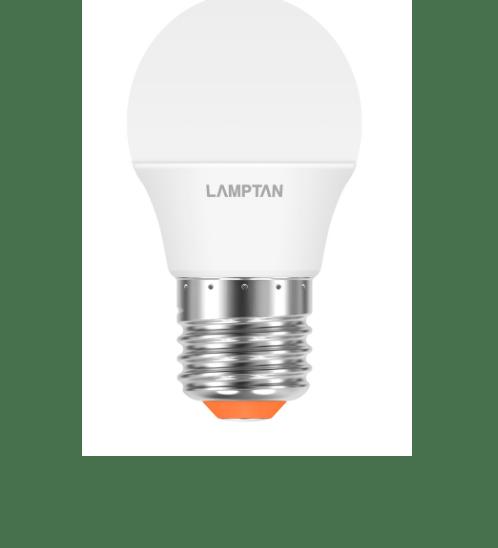 Lamptan หลอดไฟปิงปอง LED 3W แสงวอร์มไวท์ E27 BALL