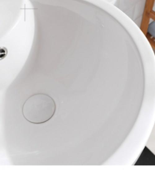 VERNO อ่างล้างหน้าแบบตั้งพื้น วินเซนต์ VN-PB813 *ไม่รวมก๊อกน้ำ* สีเทา