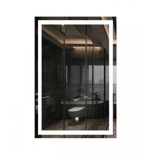 NICE กระจกเงาแบบมีไฟ LED ขนาด 60x80 cm. LG001