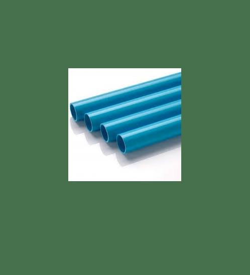 Power Plus ท่อพีวีซี 2 นิ้ว ชั้น 8.5 ปลายเรียบ สีฟ้า