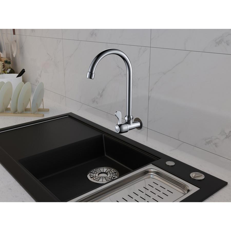 IRIS ก๊อกอ่างล้างจานแบบติดผนังตัว U ซีว่า 703-7