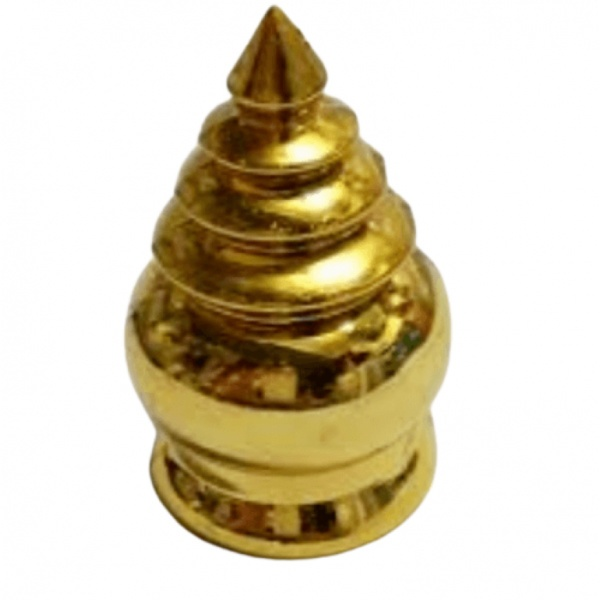 Candy  ลายประกอบเหล็กดัด  หัวขุน 2 นิ้ว ลง  1.5 นิ้ว สีทอง