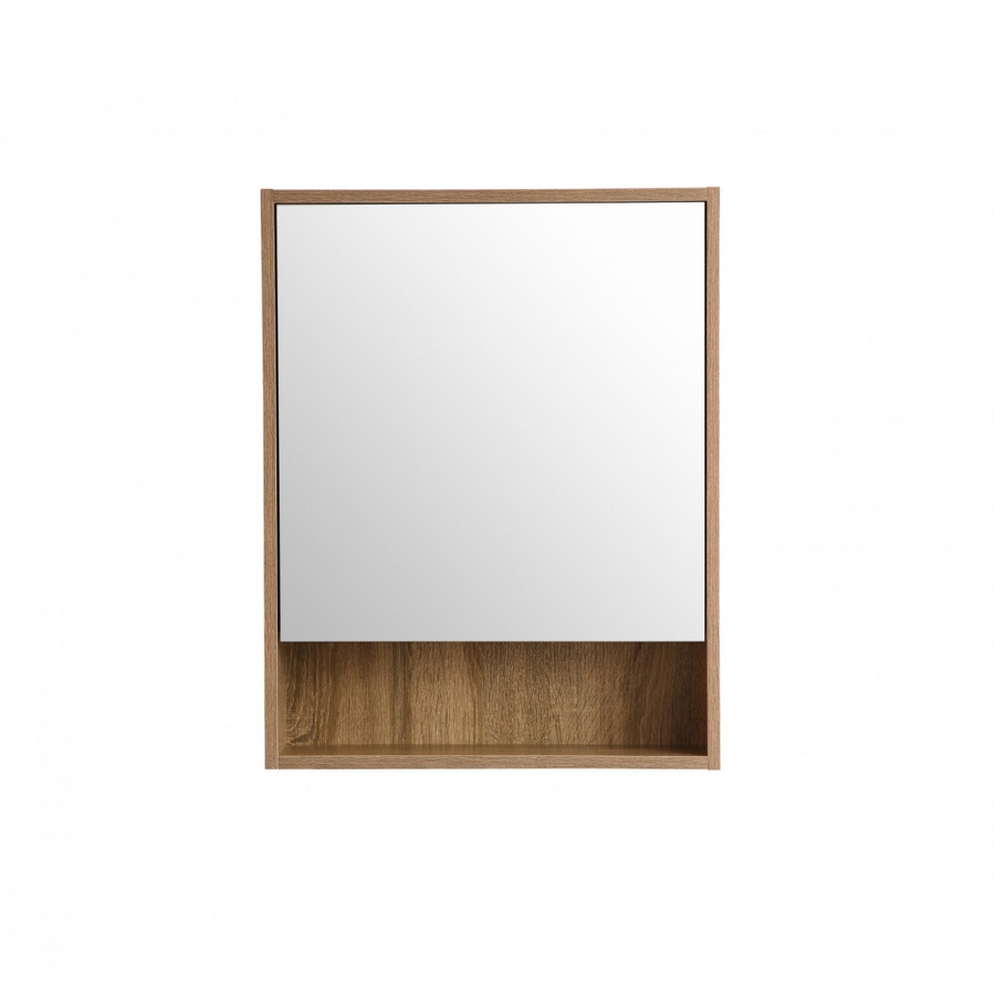 VERNO ตู้กระจกติดผนัง ขนาด 50x70cm  เนปป้า 0310-105 สีไม้