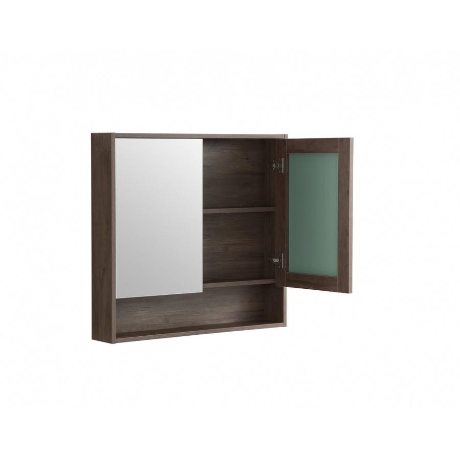 VERNO ตู้กระจกติดผนัง2บาน เนปป้า 0310-106  สีไม้