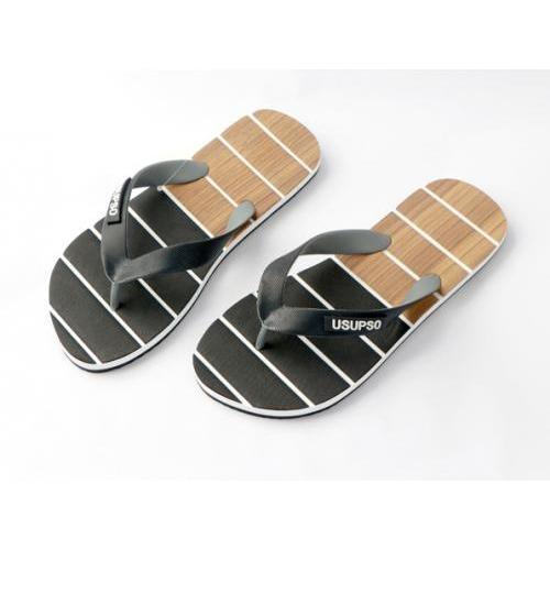 USUPSO รองเท้าแตะผู้ชาย No.42  - สีดำ