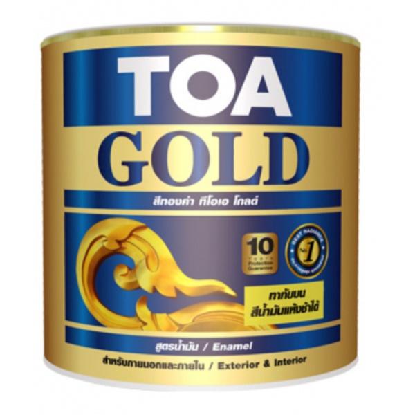 TOA โกลด์ สีน้ำมันอะคริลิค 1 กล  #GE234 สีทอง