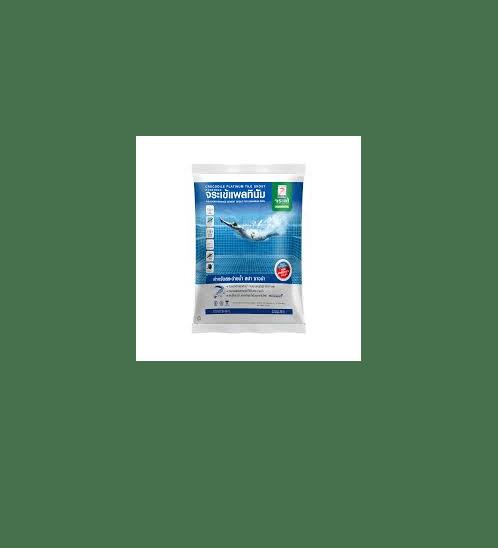 จระเข้ ยาแนวจระเข้ แพลทินัม ไทล์เกร้าท์  1 kg  กาวยาแนวมาตรฐานอเมริกาสำหรับสระว่ายน้ำ สปา ซาวน่า สีครีม