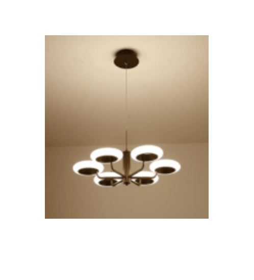 V.E.G โคมไฟห้อย LED 42W คูลไวท์  ซิลล่า  DXD012-6C