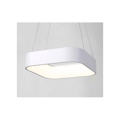 V.E.G โคมไฟห้อย LED 28W วอร์มไวท์ ซิลล่า MYX6809/28M White สีขาว