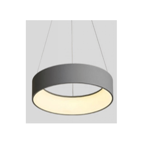 V.E.G โคมไฟห้อย LED 28W วอร์มไวท์ ซิลล่า MYX6808/28G   สีเทา