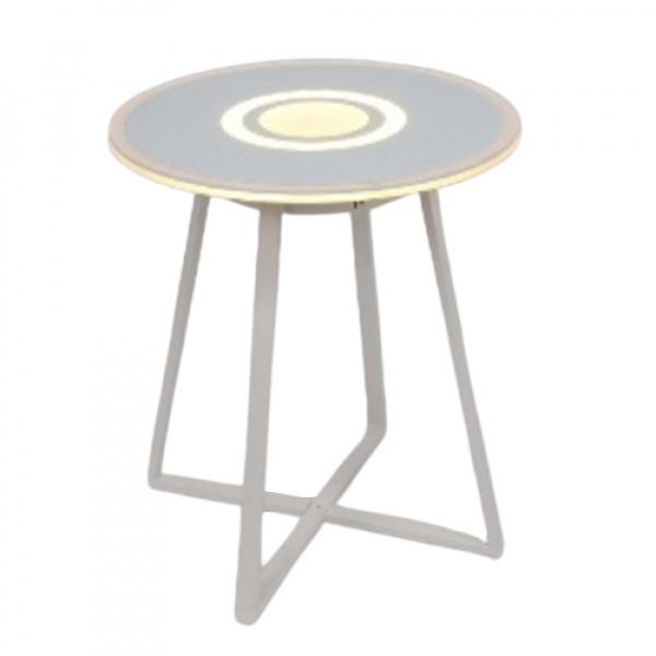 EILON โต๊ะลำโพงอัจฉริยะ LED RGB 8W ความสูง 50cm   JD-568WW สีขาว สีขาว