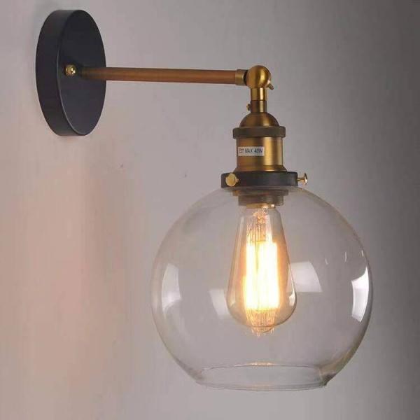 EILON โคมไฟผนังลอฟท์ 40W ขั้ว E27  MB42811-1D  สีขาว