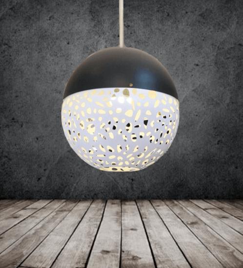 EILON  โคมไฟแขวนโมเดิร์น    ZS-003  สีดำขาว