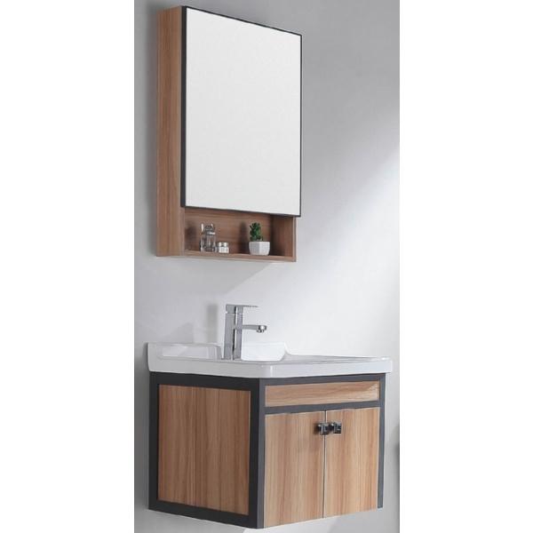 VERNO ชุดเคาน์เตอร์อ่างล้างหน้าแบบแขวน+กระจกเคาน์เตอร์ 6006-60