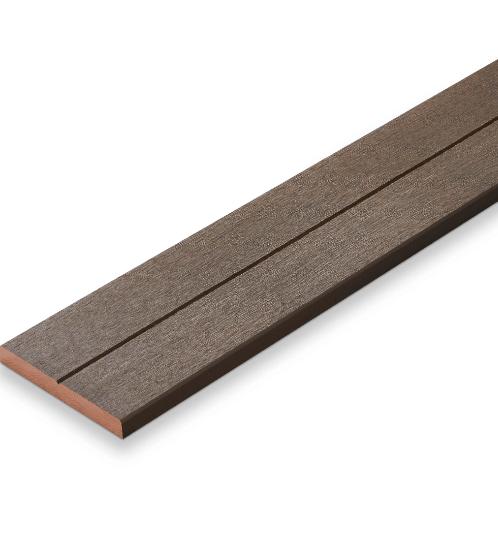 SHERA ไม้พื้น คัลเลอร์ทรู ลายเสี้ยน ขอบวี 2.5x20x300ซม.สีบราวน์เวงเก้ ดับเบิ้ล