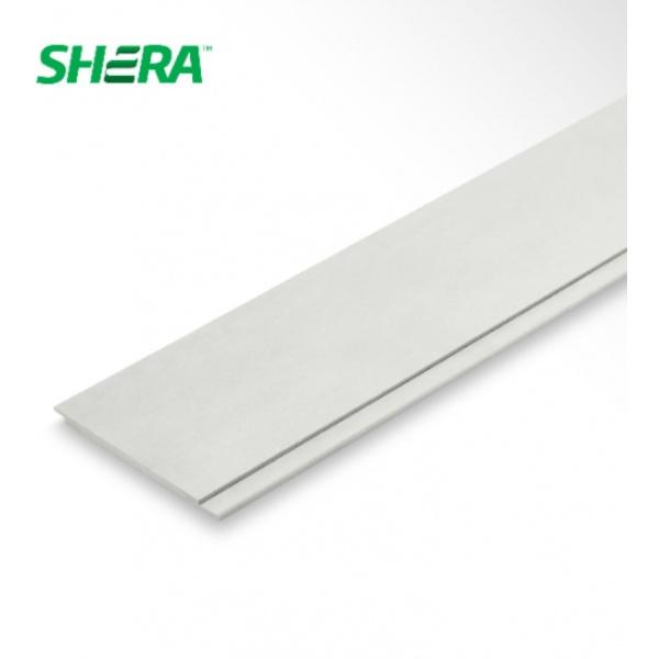 SHERA ไม้ฝาเฌอร่า สเปลนดิด ขนาด 1.0x22x300ซม. ดีไลน์ DL00