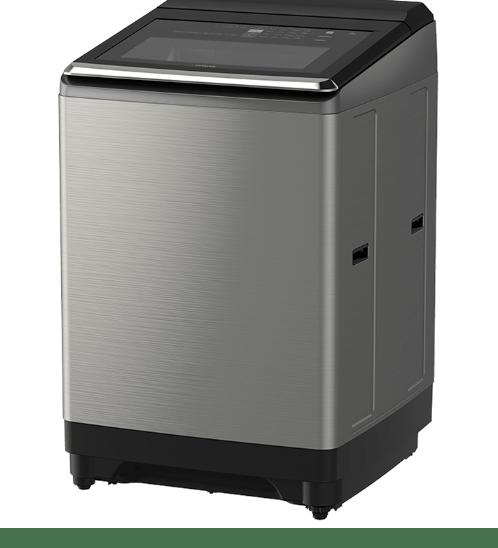 HITACHI เครื่องซักผ้าอัตโนมัติ ขนาด 22 กก. SF220ZFV SS