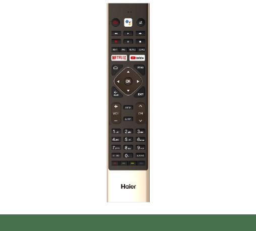 HAIER SMART ทีวี Android ขนาด 55 นิ้ว LE55B9600U สีดำ