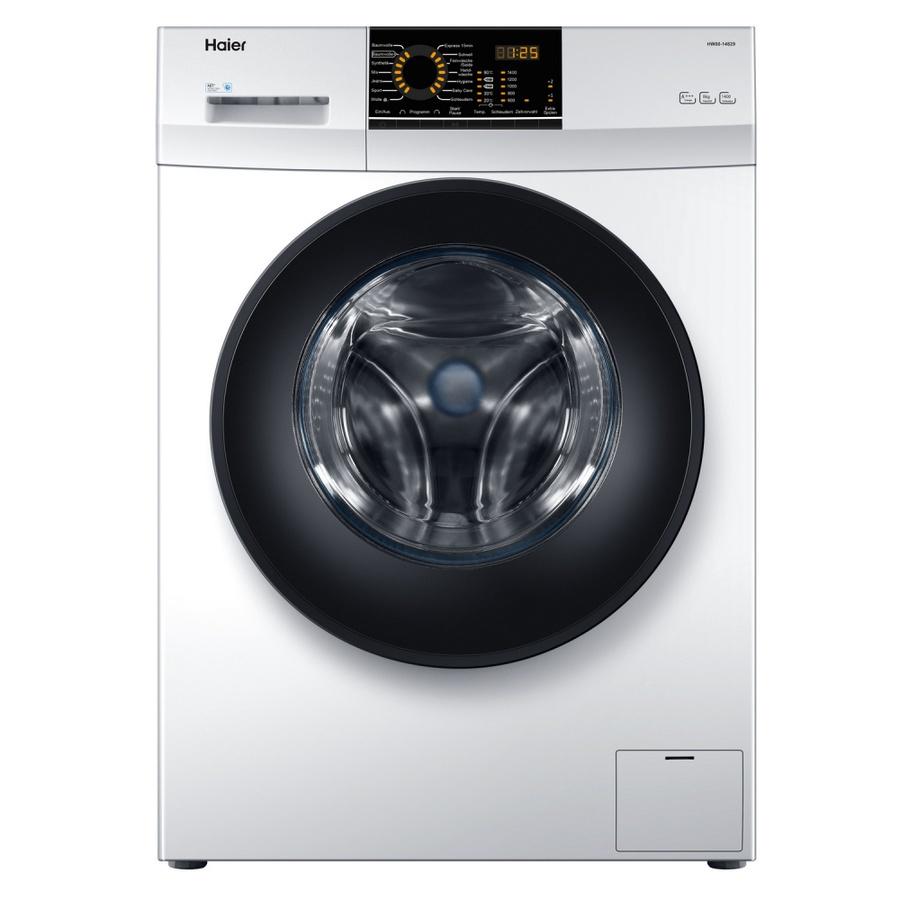 Haier เครื่องซักผ้าหน้า 8 kg. HW80-BP10829  สีขาว