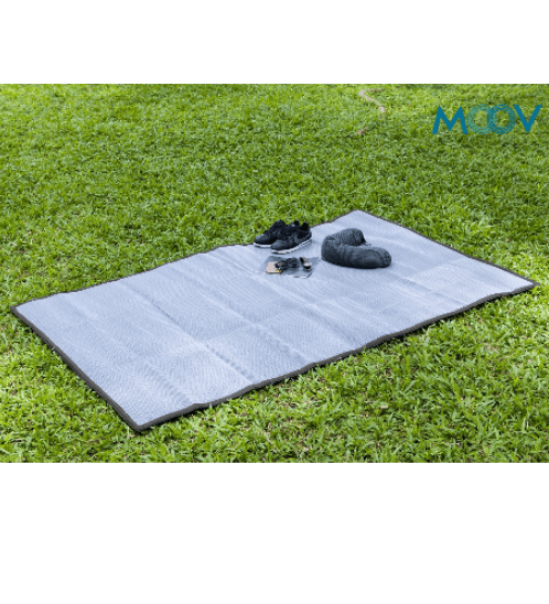 Moov เสื่อกระเป๋า  MOOV 1.3 x 1.8 m สีเทา
