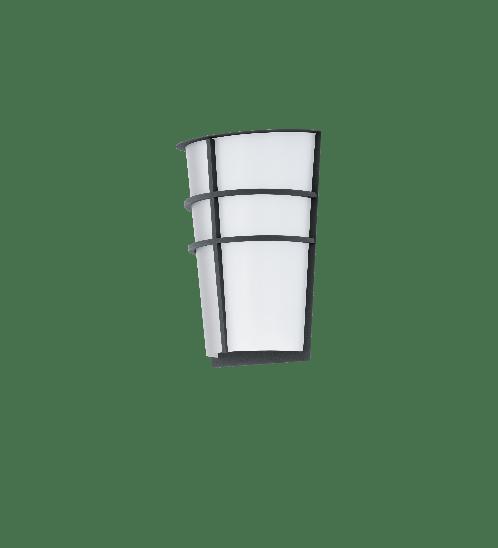 EGLO โคมไฟติดผนัง ภายนอก  2x 2,5W BREGANZO LED-MODUL สีขาว