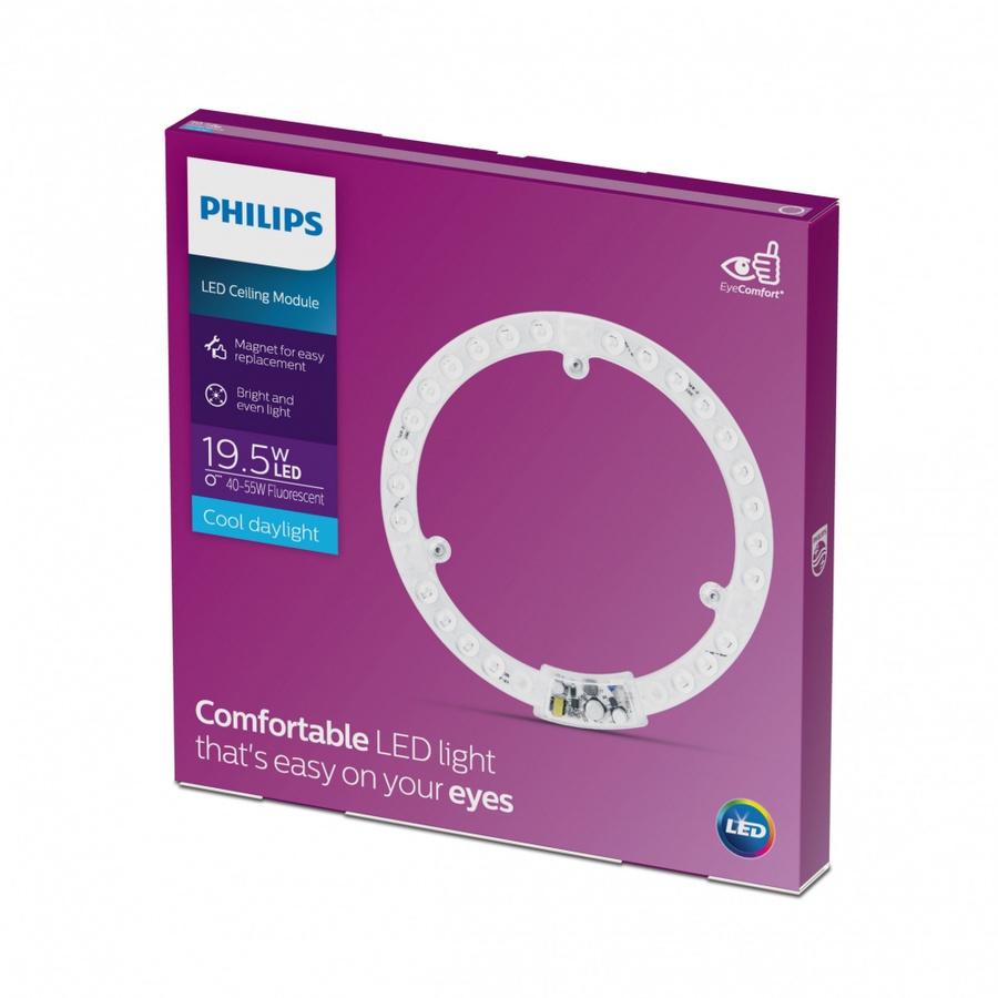 PHILIPS ไส้โคมไฟเพดานแอลอีดี  LED Circular MOD 19.5W 865 APR สีขาว
