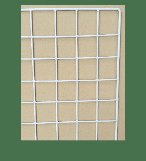Delicato  ตะแกรงชุบ  ขนาด 20x100x1ซม. สีขาว