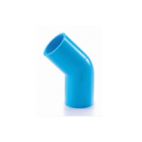 SCG ข้องอ 45  หนา 1/2นิ้ว (18)  สีฟ้า