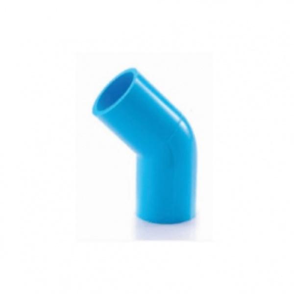 SCG ข้องอ 45  หนา 2นิ้ว (55)  สีฟ้า