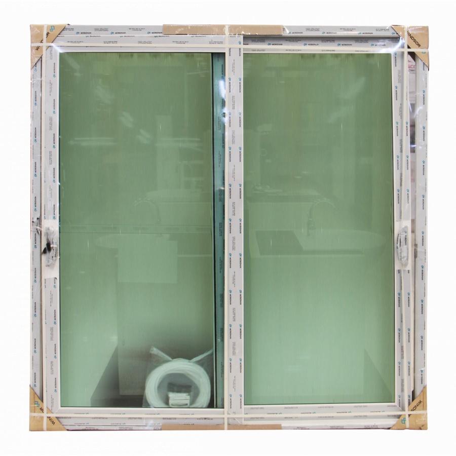 WINDSOR ประตูบานเลื่อนสลับ วินด์เซอร์ (รุ่นเรดดี้) ขนาด 200x202ซม. สีขาว Ready