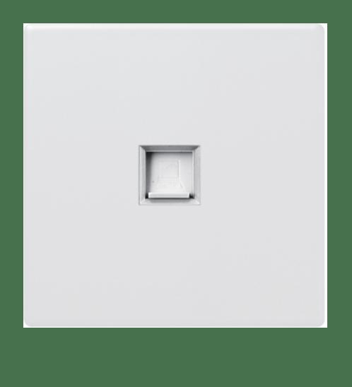 Gentec เต้ารับคอมพิวเตอร์ 86W-12 สีขาว ขาว