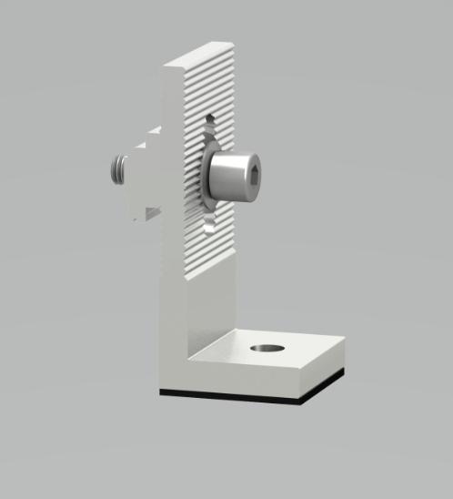 คลีนเนอร์จี้  แอลฟีด  L-Feet ขนาด (395*260*330 mm.) สี Silver I-05-8/28/TH