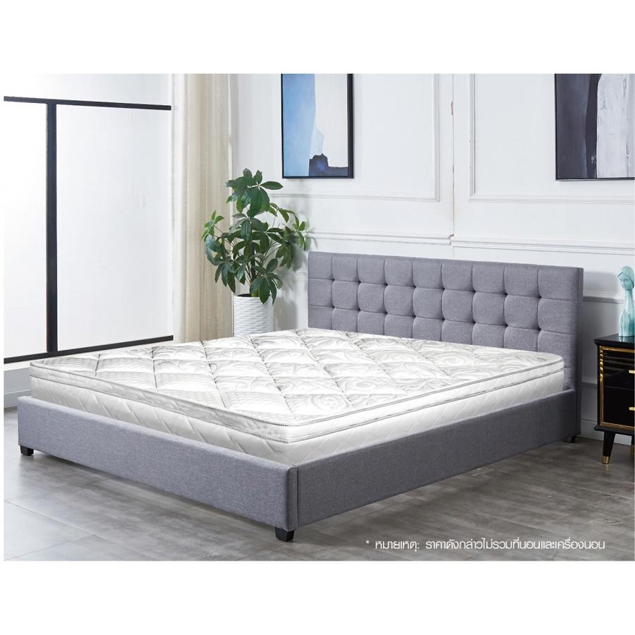 Pulito เตียงนอน ขนาด 6 ฟุต เคย์ สีเทา