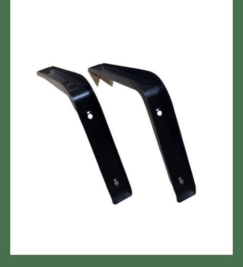 TORSTEN ฉากรับชั้นเหล็ก(แพ็ค2ชิ้น) 20*2.6*14cm. PQS-SJJ006H สีดำ
