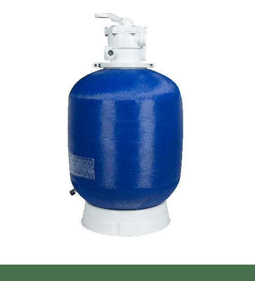 SAKU ถังกรองทราย28 สำหรับสระ ขนาด 3.50x12.0x1.50m. 03010206 สีน้ำเงิน