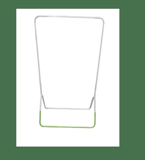 SUKU ราวตากผ้า ขนาด 80*44*147 ซม. CT-008 สีเขียว-ขาว