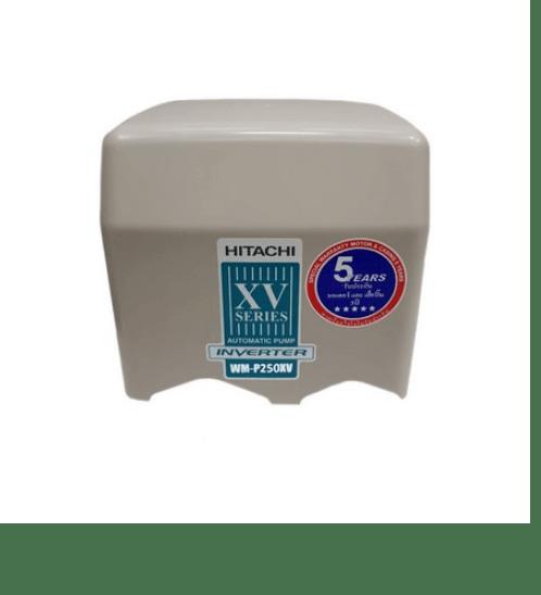 HITACHI ปั๊มอัตโนมัติ อินเวอร์เตอร์  WM-P250XV สีขาว-เทา