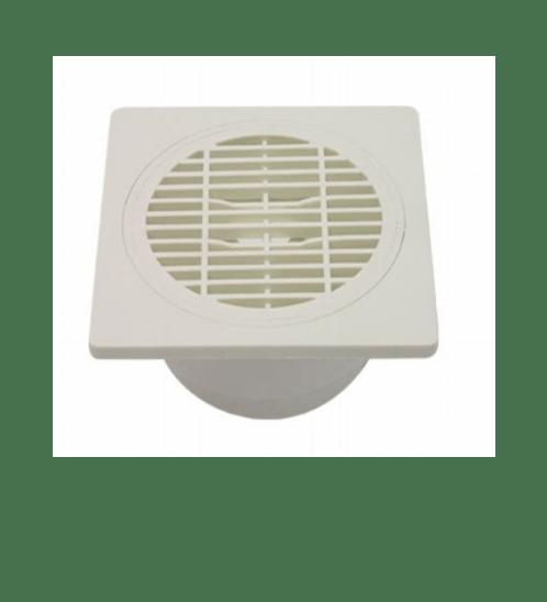 VEGARR ตะแกรงกันกลิ่น  VD060 C ขาว