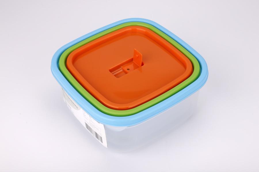 GOME ชุดเซ็ตกล่องถนอมอาหาร 3ชิ้น/แพ็ค  Kapookka