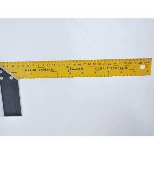 HUMMER ฉากเหล็ก ขนาด 25cm  JR-5008A  เหลือง