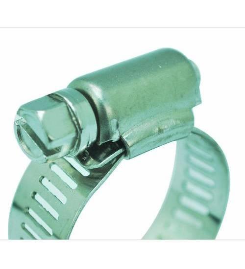 VAVO กิ๊ปรัดสายยางกว้าง ขนาด 1-1/2นิ้ว - สีเงิน