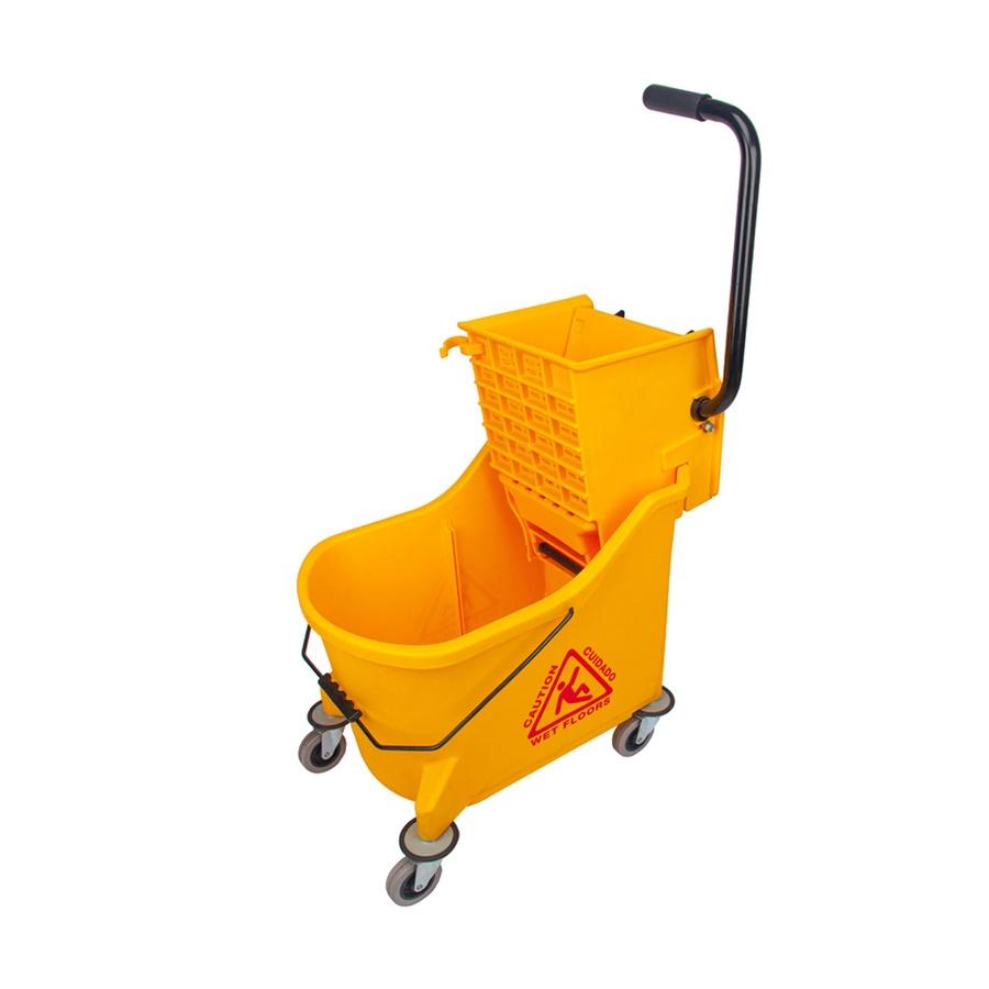 ICLEAN ถังม๊อบรีดน้ำ 33 ลิตร  TG55153 สีเหลือง