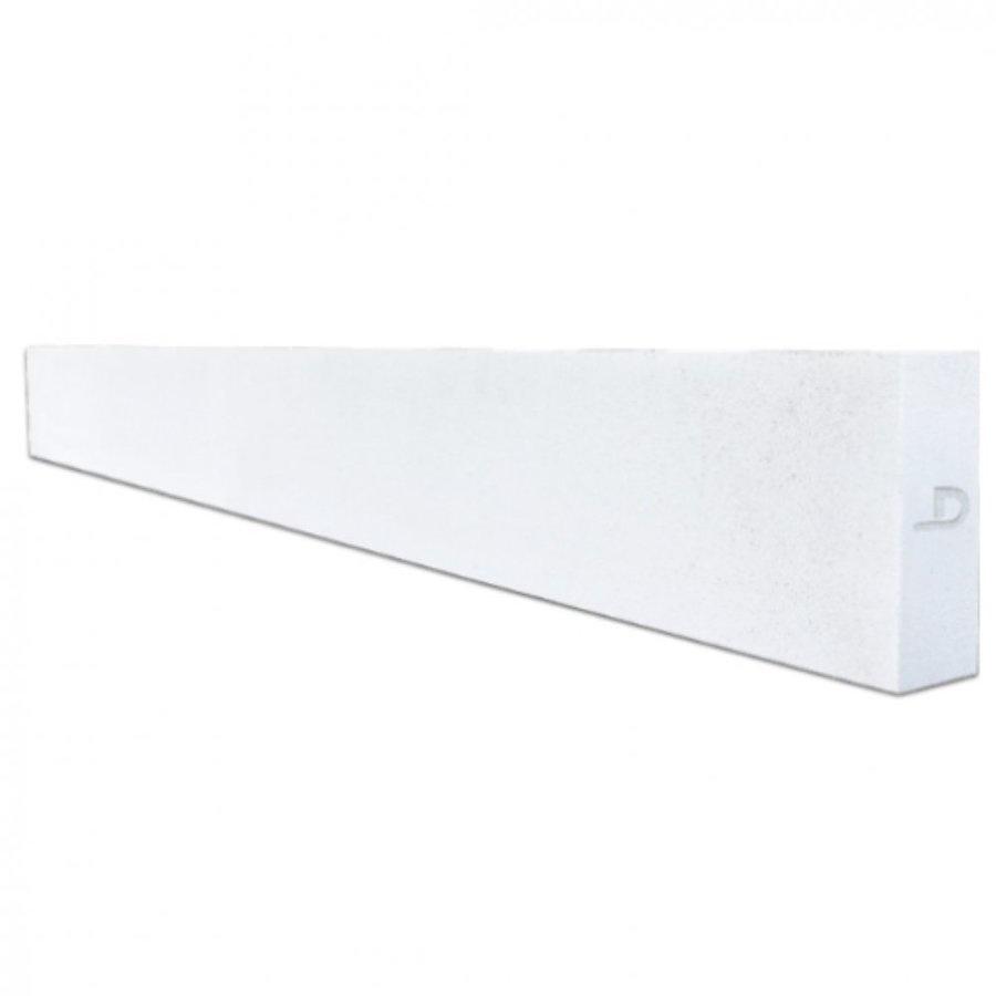 ตราเพชร คานทับหลัง ขนาด   20x300x20cm ขาว