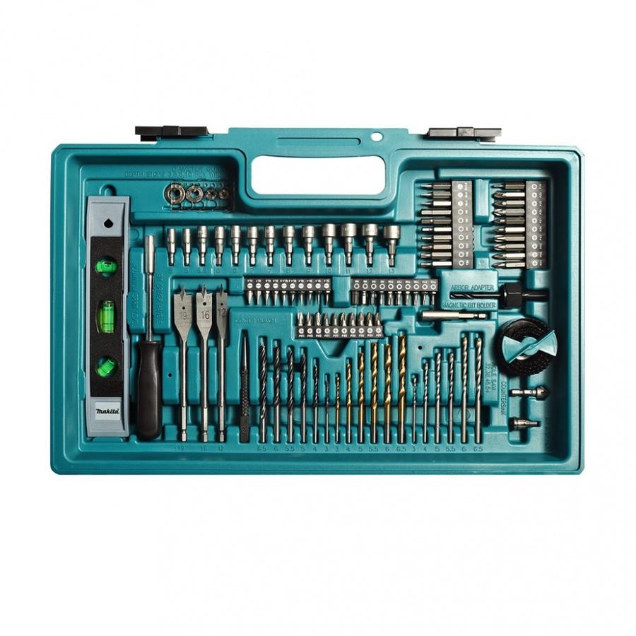 MAKITA สว่านไขควง 18V*3A+ACC 101 PCS  DDF453FX13  สีฟ้า