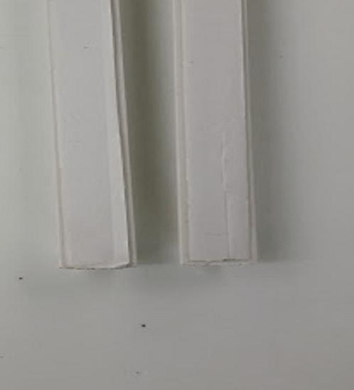 VEG รางร้อยสายโทรศัพท์(พร้อมเทปกาว)รุ่น A-ECT-05-2MWT สีขาวยาว2 เมตร A-ECT-05-2MWT สีขาว
