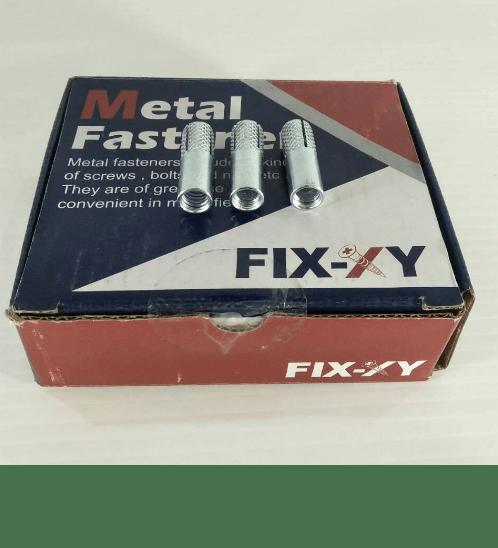 FIX-XY พุกดร็อปอิน 5/16(100ชิ้น/กล่อง) ED-002-B