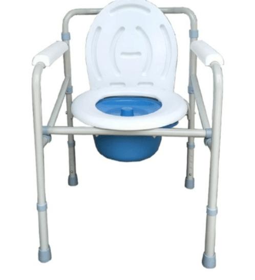 VERNO เก้าอี้นั่งขับถ่ายรุ่น  DS-6013C สีขาว