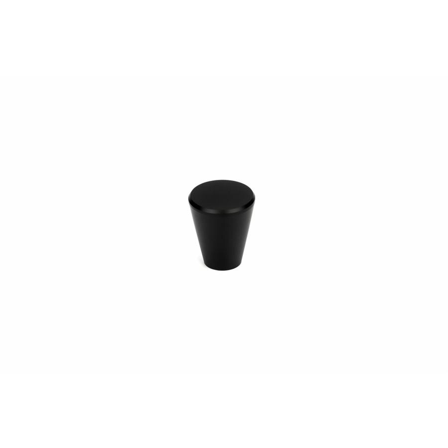 Torsten ปุ่มจับเฟอร์นิเจอร์ซิงค์อลูมิเนียมอัลลอยด์ ขนาด 20x20x21 มม.  OKL0032-BK สีดำ