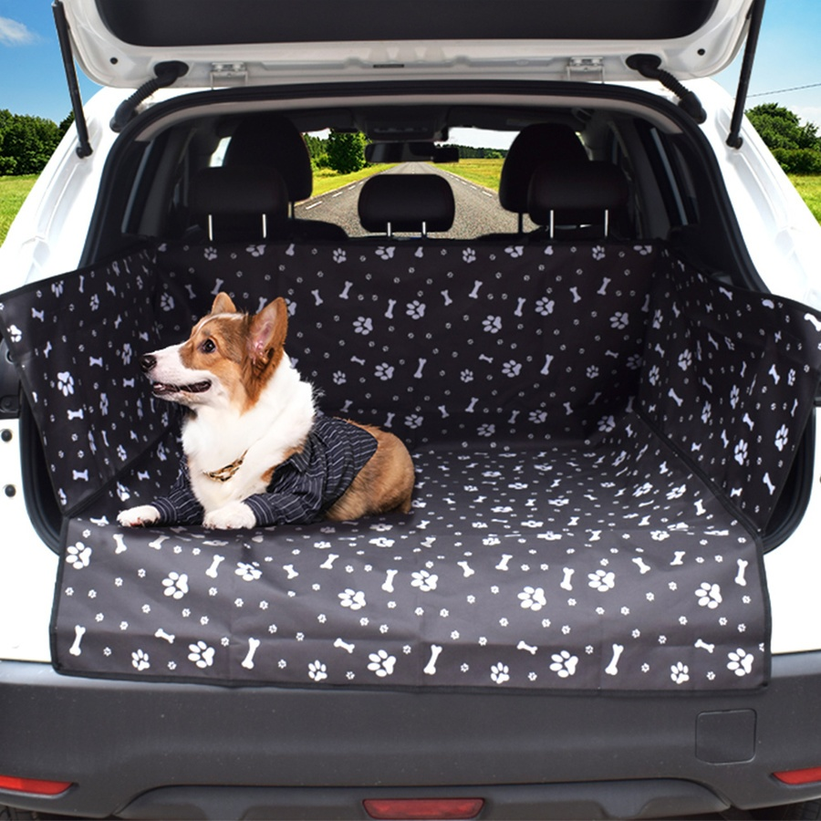 DUDUPETS  แผ่นรองกันเปื้อนในรถยนต์ ขนาด 104x155x33ซม.  JB001 สีดำ