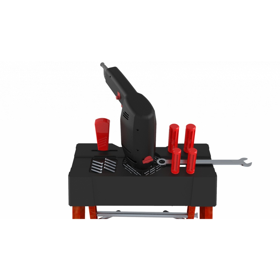 HUMMER  บันไดไฟเบอร์กลาส 5ขั้น GB4204B-5C แดง